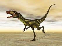 Dilong dinosaur - 3D render Stock Photos