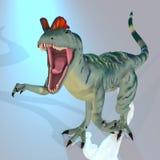 Dilophosaurus Stockbild