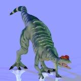 Dilophosaurus Fotografie Stock Libere da Diritti