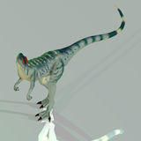Dilophosaurus Stock Photo