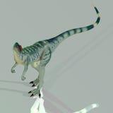 dilophosaurus иллюстрация вектора
