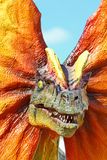 Dilophosaurus dinosaur Royalty Free Stock Photo