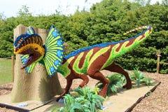 Dilophosaurus Dinosaur Model royalty free stock photo