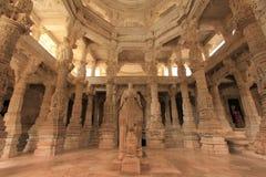 dilwara耆那教的寺庙 免版税库存照片