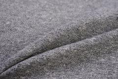 Dim Gray cloth made by cotton fiber Stock Photo