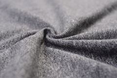 Dim gray cotton cloth Stock Photography