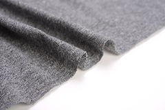 Dim gray cotton cloth Stock Photo