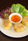 Dim sim, Dumpling. Chinese Appetizer Stock Photo
