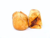 Dim sims. Fried dim sims royalty free stock images