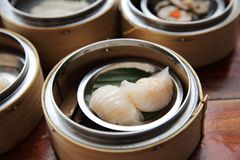 Dim sum. In close up royalty free illustration