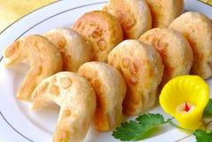 Dim sum. Chinese food- deep-fried dim sum Royalty Free Stock Image