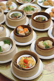 Dim sum, asian cuisine menu Stock Images