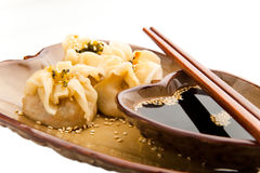 Dim sum Asian dumplings Stock Images
