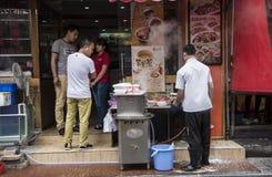 Dim Sum bierze daleko od, Shenzhen Zdjęcie Royalty Free