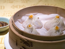 Dim Sum - bollos con el relleno del cangrejo Fotos de archivo