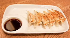 Dim-sum call Gyoza Royalty Free Stock Photography