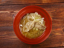 Dim-sum call Gyoza, asian tradition food. Royalty Free Stock Photography