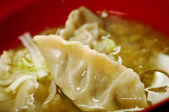 Dim-sum call Gyoza, asian tradition food. Royalty Free Stock Photography