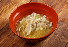Dim-sum call Gyoza, asian tradition food. Royalty Free Stock Photos