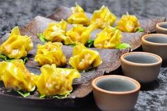 Dim Sum Chińska kuchnia także w południowo-wschodni Asia Fotografia Stock