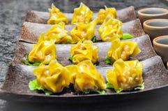 Dim Sum Chińska kuchnia także w południowo-wschodni Asia Obrazy Stock