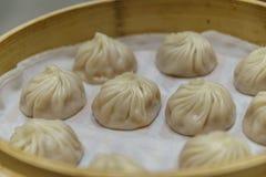 Dim sum chinês - Xiaolongbao Foto de Stock