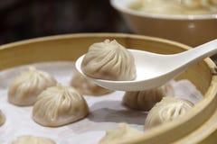 Dim sum chinês - Xiaolongbao Foto de Stock Royalty Free