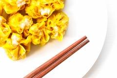 Dim Sum, Chinees Voedsel, Chinese gestoomde bol Stock Foto