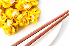 Dim Sum, Chinees Voedsel, Chinese gestoomde bol Royalty-vrije Stock Afbeelding