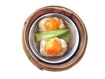 Dim sum Chinees voorgerecht Stock Foto's