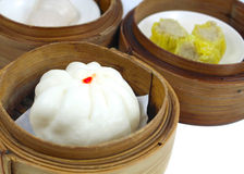 Dim sum of Chinese food Royalty Free Stock Photos