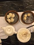 Dim Sum. At a Chinese restaurant in San Francisco& x27;s China Royalty Free Stock Images