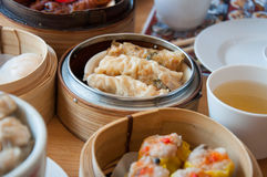 Dim Sum is a Chinese-style food. A popular dish to eat in the morning Stock Photos