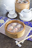 Dim sum. Chinese traditonal cuisine called dim sum royalty free stock photography