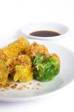 Dim Sum chinois délicieux cuit à la vapeur image stock