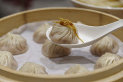 Dim sum chinois - Xiaolongbao Photos stock