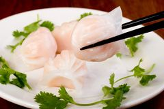 Dim Sum Dumpling Stock Photo