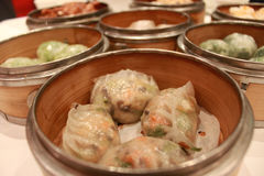 Dim sum dumplings Royalty Free Stock Photo