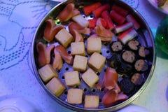 Dim Sum en un plato asiático popular del desayuno foto de archivo libre de regalías