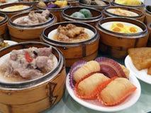Dim Sum in Guangzhou Royalty-vrije Stock Foto's