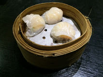 Dim sum Ha gow Stock Photo