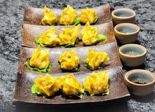 Dim sum palcowi foods w Azja Południowo-Wschodnia po całym świat i Obraz Royalty Free