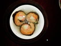 Dim Sum Petit pain de poissons Images libres de droits