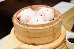 Dim sum. With a `piggy` look Stock Image