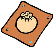 Dim sum plate vector illustration Royalty Free Stock Images