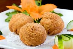 Dim Sum Puff Pastry Stock Image