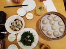Dim Sum in a restaurant in Beijing, China. Delicious Dim Sum in a restaurant in Beijing in China stock photo