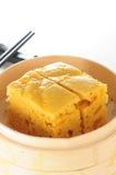 Dim Sum Sponge Cake. Chinese Dim sum Malay sponge Cake Stock Image