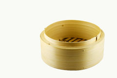 Dim sum steamer basket Royalty Free Stock Photos