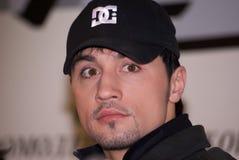 Dima Bilan Eurovisie 2008 winnaar royalty-vrije stock afbeeldingen